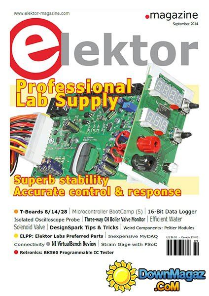 Elektor Electronics USA - September 2014 » Download PDF