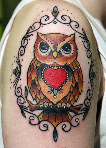 Owl tattoo | Tattoo was done by Chris(Crutch)Henry