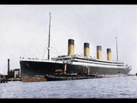 RMS Olympic - the lonely sister - colored pics and short
