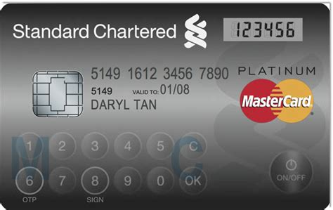 MasterCard Puts Out Card with Display and Keypad - News