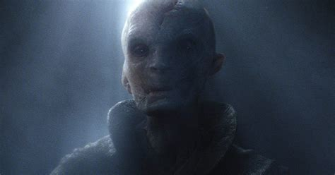 Andy Serkis Never Said Snoke Is Not Darth Plagueis