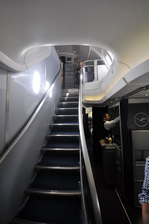 Flying The New Lufthansa Business Class On The 747-8 Jumbo