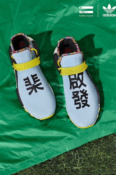Pharrell & adidas Originals Look to Asia and East Africa