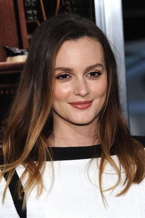 Leighton Meester 'needs' to eat chocolate to get through