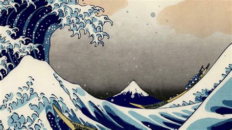 The Great Wave off Kanagawa - 3D Matte painting - YouTube