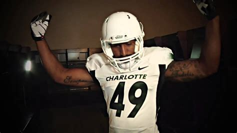 Charlotte 49ers Football Uniform First-Look - YouTube