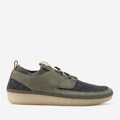 Clarks Women's Nature IV Lace Up Shoes - Dark Grey Combi