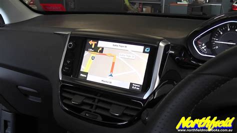 2013 Peugeot 208 Touch Screen Navigation Upgrade - YouTube