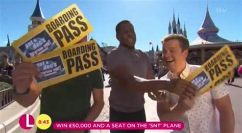 Andi Peters and Dec 'come to blows' AGAIN - 'Shut your