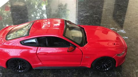 Diecast Unboxing- 2015-2016 Ford Mustang GT 1/24 official