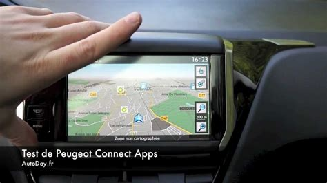 Peugeot Connect Apps - YouTube