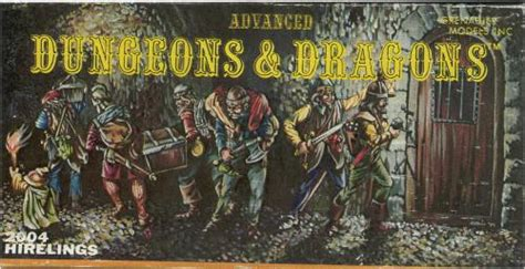 Grenadier Models: Advanced Dungeons and Dragons
