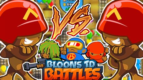 THE BEST RUSH STRATEGY CARD BATTLES! - BLOONS TOWER