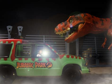 My old dioramas: T-Rex escape | Jurassic Toys