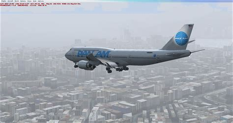 Pan Am Boeing 747-8i for FSX