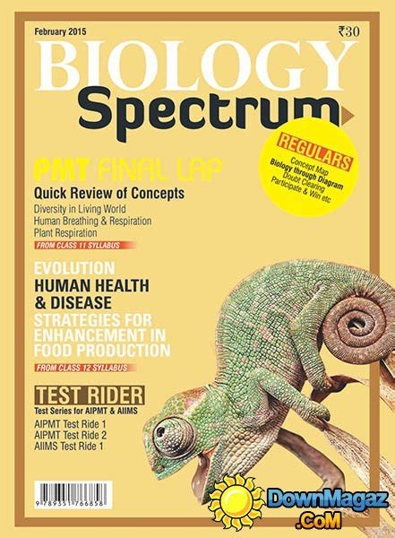 Spectrum Biology - February 2015 » Download PDF magazines