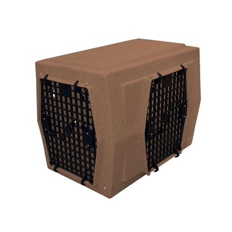 Ruff Land Kennels Large Right-Side Entry Double Door Dog