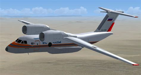 Antonov 72-74 With Updated VC for FSX