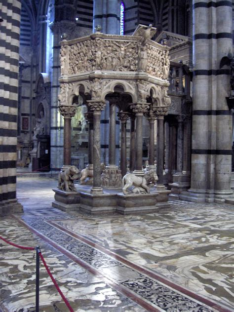 Siena Cathedral Pulpit - Wikipedia